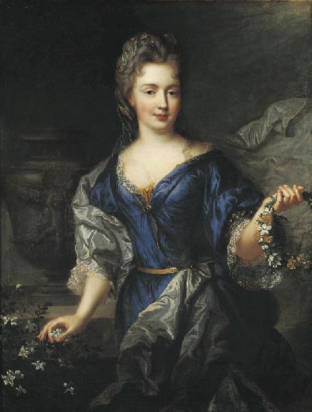 Portrait de Marie Anne de Bourbon, princesse de Conti_0