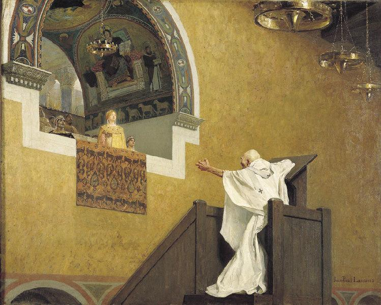 Saint Jean Chrysostome et l'imperatrice Eudoxie_0