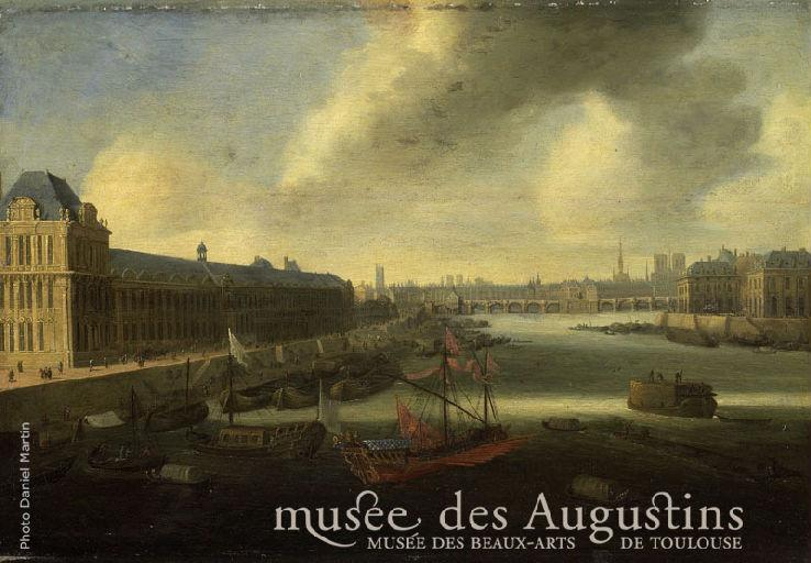 Vue du pont neuf à Paris