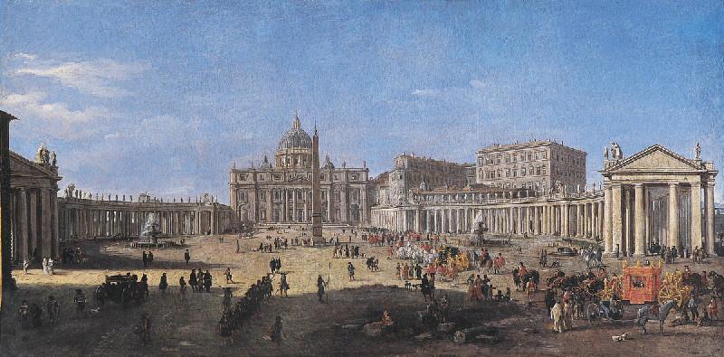 La Place Saint-Pierre à Rome_0