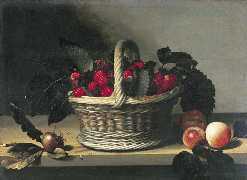Nature morte aux mûres ; fruits_0