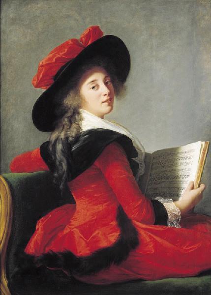Portrait de la baronne de Crussol_0