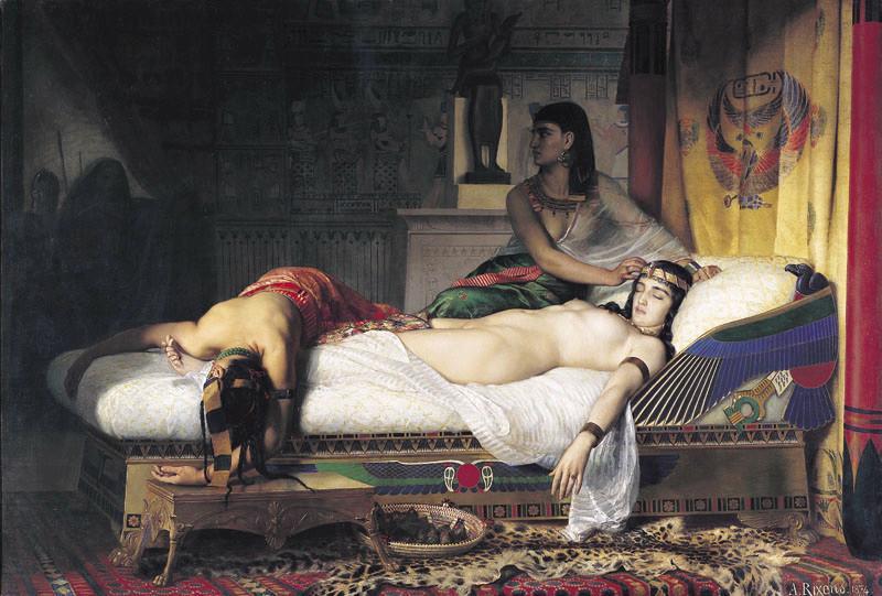 Mort de Cléopâtre_0
