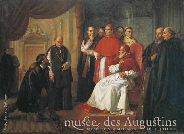 Michel Ange et Jules II_0