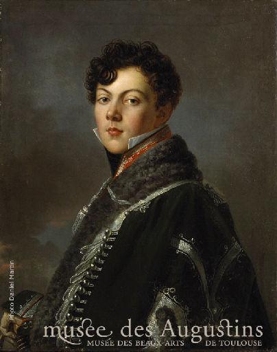 Portrait de Jules de Résséguier, en uniforme