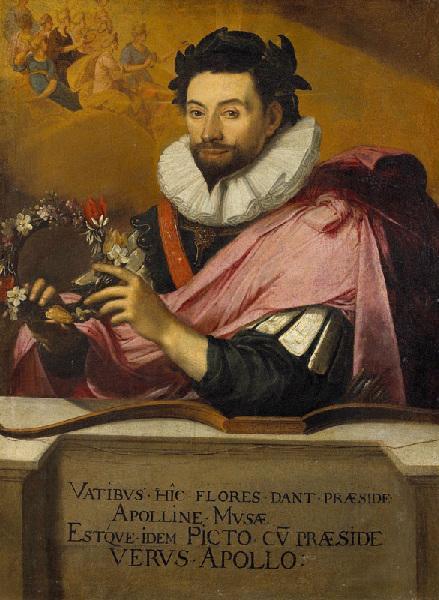 Portrait de Jean de Caulet en Apollon couronné_0