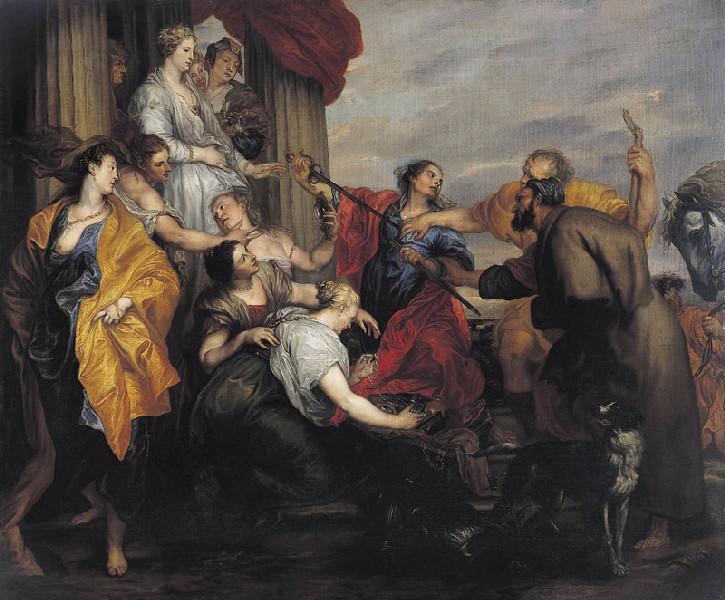 Achille reconnu par Ulysse à la cour de Lycomède_0