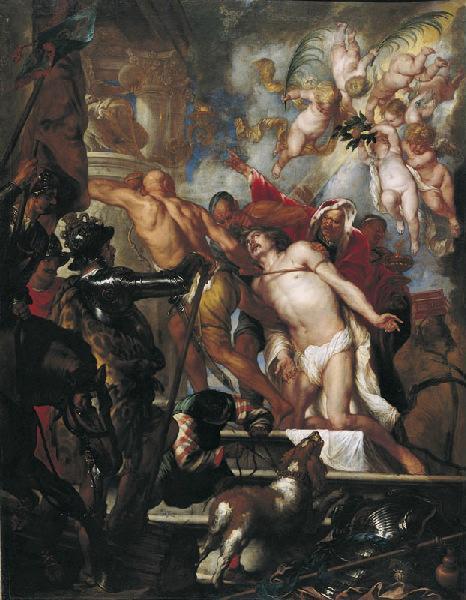 Le Martyre de Saint Jacques (titre récent) ; Martyre d'un chrétien (titre ancien)_0