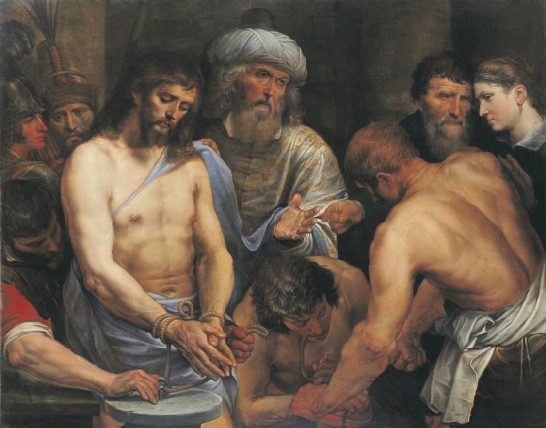 Ecce Homo (Titre de David Fiozzi) ; Le Christ présenté au peuple_0