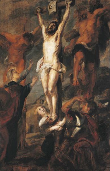 Le Christ entre les deux larrons_0
