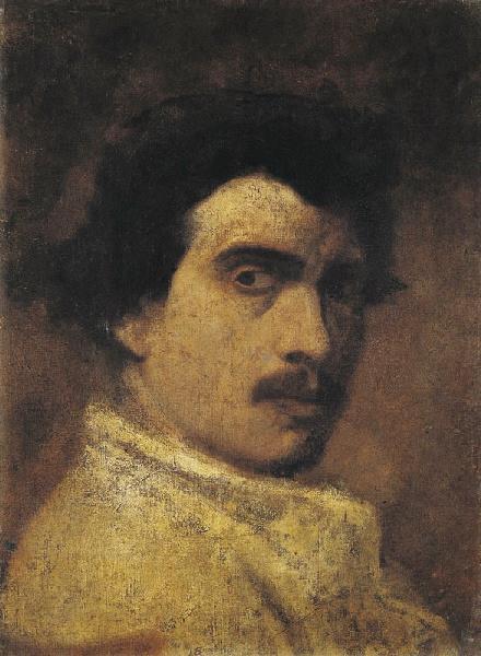 Portrait de Falguière par lui-même
