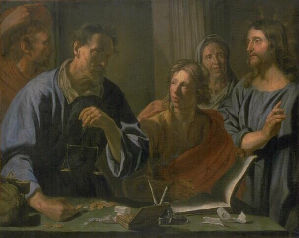 La vocation de saint Matthieu