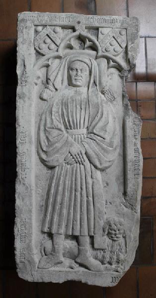 Dalle funéraire de Jean Lapeyre-Dorliac ; Dalle funéraire à bas-relief de Jean Lapeyre-Dorliac (Ancien titre)_0