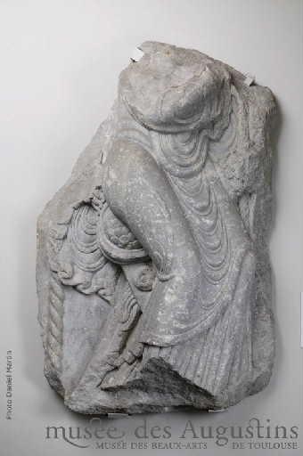 Figure drapée [abbaye de Saint-Sernin, Toulouse]_0