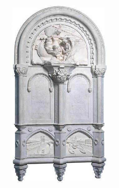 Monument consacré à la mémoire du Baron Gros par Mlle Sarazin de Belmont_0