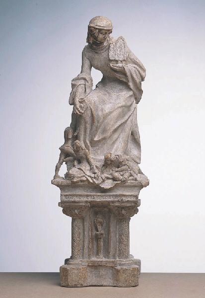 Maquette pour un Monument à Clémence Isaure instituant les Jeux floraux_0