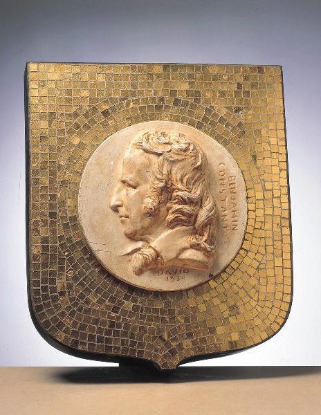 DAVID D'ANGERS (dit), DAVID Pierre Jean (patronyme) : Portrait de Benjamin Constant (1767-1830)