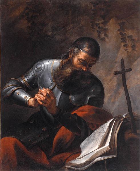 RIVALZ Antoine : Saint Guillaume d'Aquitaine ermite