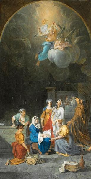 ROQUES Joseph : Nativité de la Vierge