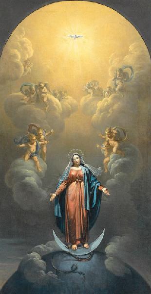 ROQUES Joseph : L'Immaculée Conception