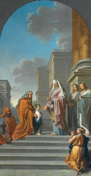 La Présentation de la Vierge au temple_0
