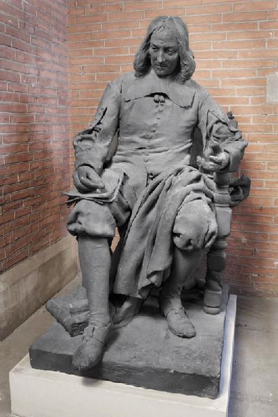 FALGUIERE Jean Alexandre Joseph : Pierre de Fermat