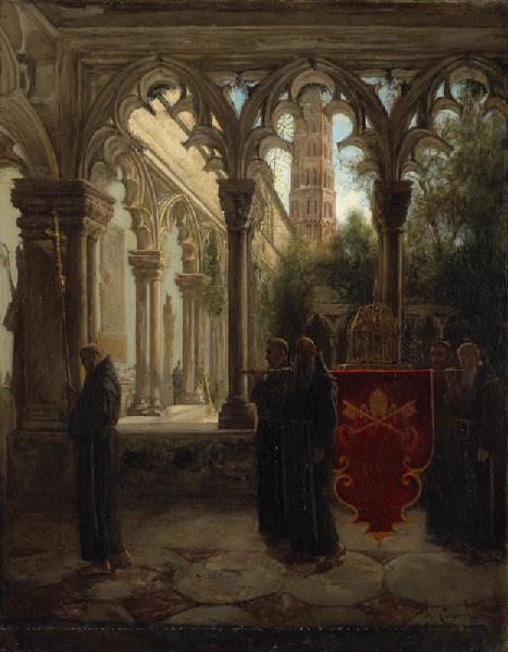 CAPOUL Charles : Le Cloître des Augustins