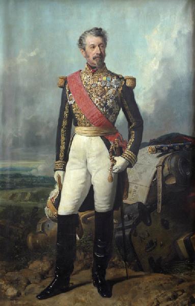 LARIVIERE Charles Philippe Auguste de : Portrait du Maréchal Niel