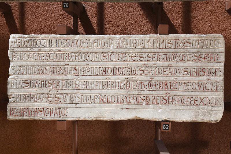 Epitaphe et fondation obituaire de Berengarius Bistani (Béranger BISTAN)_0