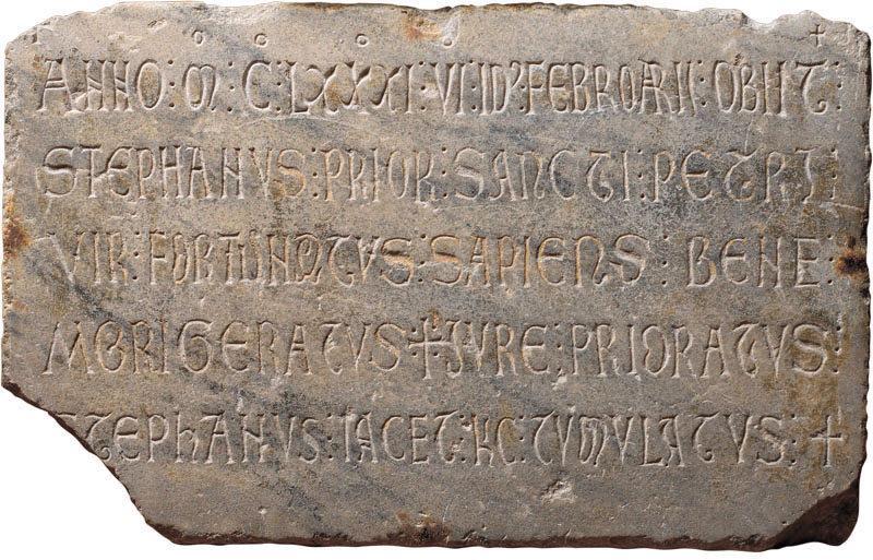 Epitaphe d'Etienne de Montvalran (Prieur de l'église Saint-Pierre des Cuisines)_0