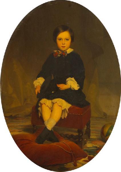 Portrait du fils de Monsieur et Madame Abat d'Orlu_0