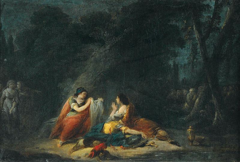 La Mort d'un guerrier antique