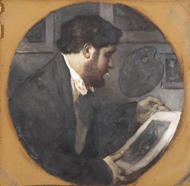 Portrait d'Emmanuel, fils de l'artiste