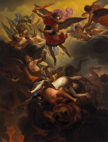 Saint Michel terrassant les anges rebelles_0