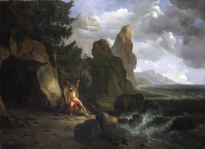 Philoctète blessé sur l'île de Lemnos_0