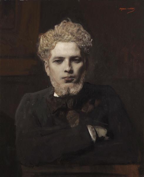 Portrait de jeune homme barbu dit l'Albinos_0
