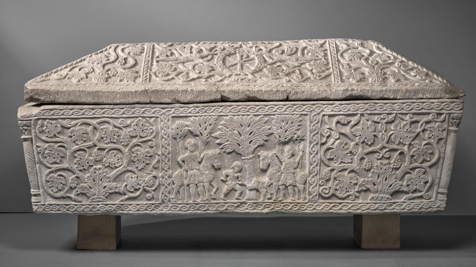 """Sarcophage dit de """"La chasse de Méléagre""""_0"""