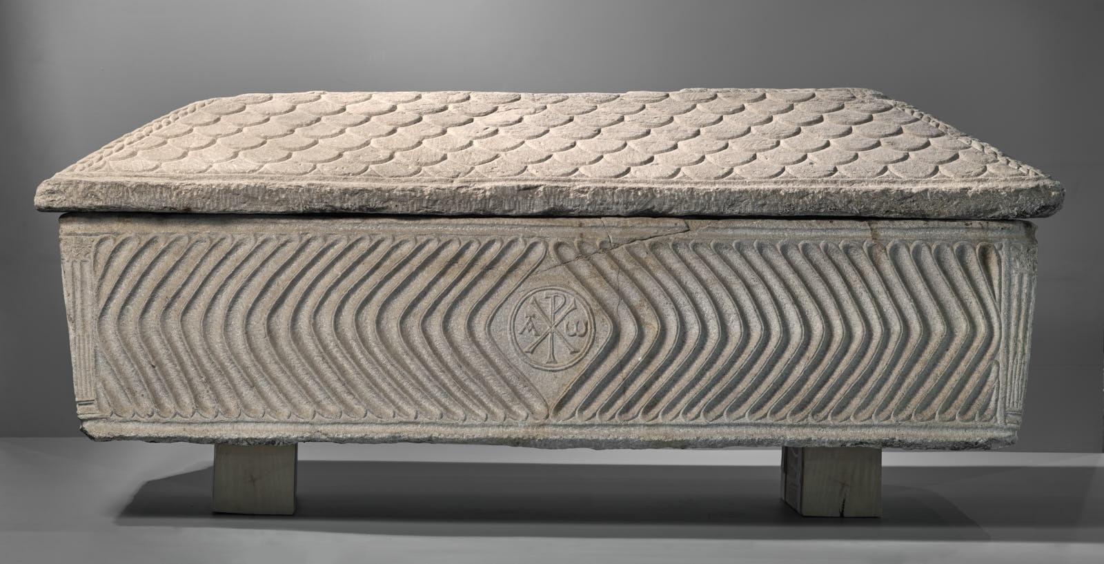 Sarcophage paléochrétien_0