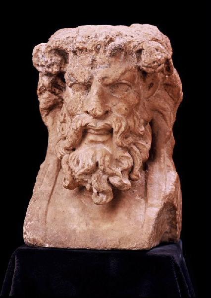 statuette : Hermès bachique