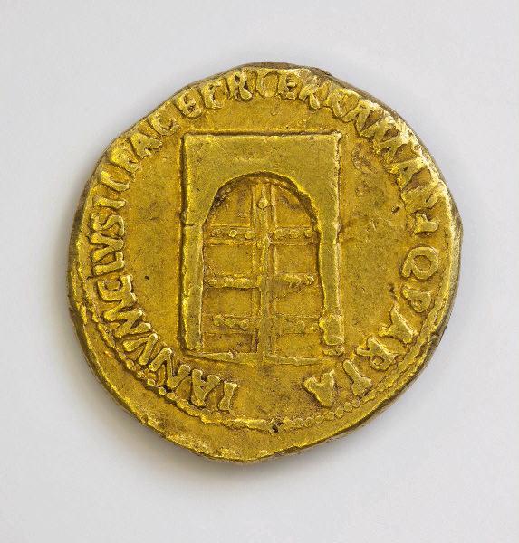 NERON (dit) NERO CLAUDIUS CAESAR DRUSUS GERMANICUS (émetteur) : monnaie, aureus