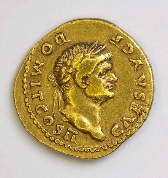VESPASIEN (émetteur) : monnaie, aureus