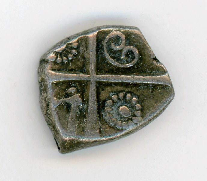 PETROCORES (émetteur), NITIOBROGES (émetteur) : Monnaie gauloise à la croix