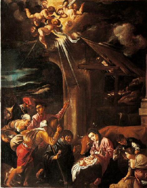 L'Adoration des bergers ; Adoración de los pastores_0
