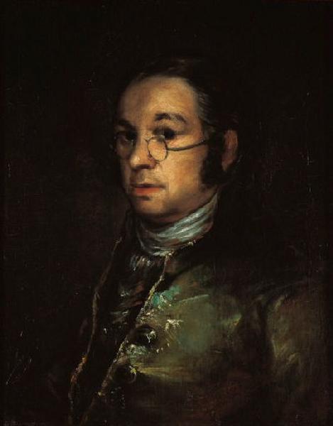 Autoportrait aux lunettes ; Autorretrato