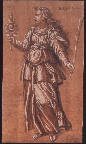 PACHECO Francisco : Sainte Régine d'Alésia, Santa Regina de Alise