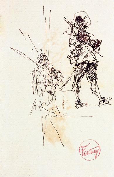 Mousquetaire (Verso)