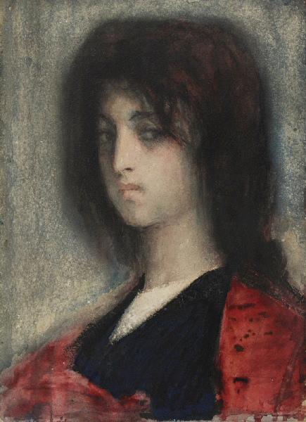 Jeune femme aux cheveux longs_0