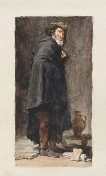 BRIGUIBOUL Marcel, VELASQUEZ Diego (d'après) : Menippe d'après Velázquez