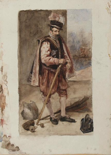 BRIGUIBOUL Marcel, VELASQUEZ Diego (d'après) : Don Juan d'Autriche d'après Velázquez