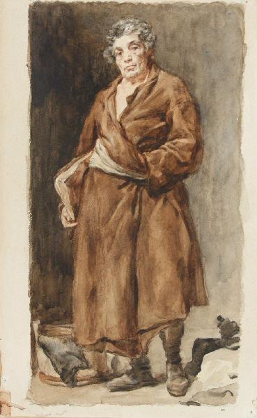 BRIGUIBOUL Marcel, VELASQUEZ Diego (d'après) : Esope d'après Velázquez